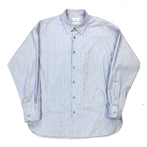 ALLEGE STRIPE SHIRT BLUE