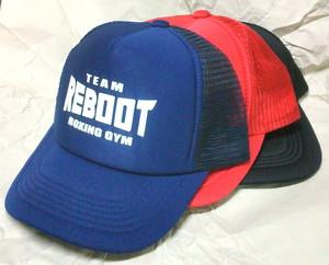 【REBOOT】TEAM REBOOT メッシュキャップ