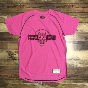 Mask Tee  /  HeatherPink
