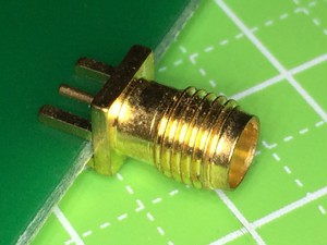 SMAコネクタ-基板エッジ型1.6mm