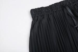 「即納」透かしプリーツスカートSK1110
