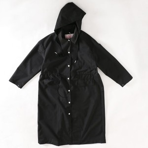 LOOT FOREVER HOODED COAT(BLK)