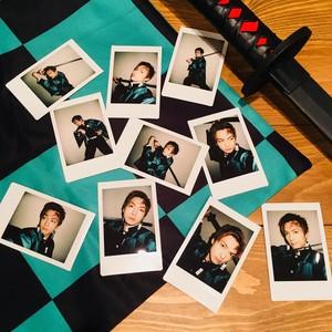 【ハロウィン限定】撮り下ろしチェキ三枚セット♦︎炭治郎