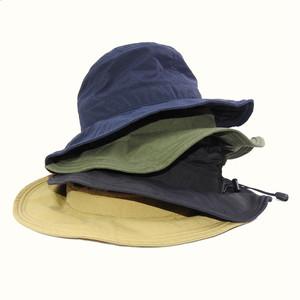 サイズ調節ができるおされサファリハット  olm hat