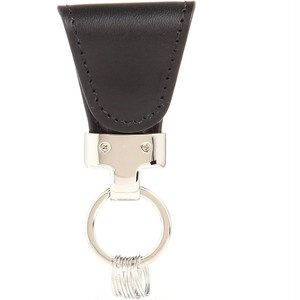 [Vintage Revival Productions] key clip oil leather キーケース 日本製 ブラック
