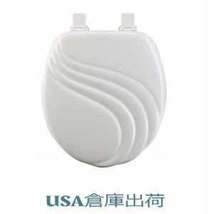木製便座 Swirlデザイン BestonStyle 420mmサイズ
