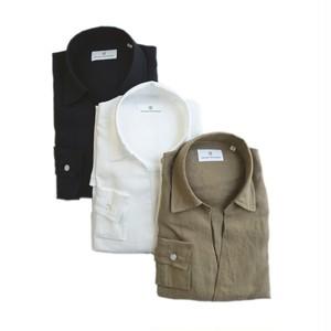 COLONY CLOTHING / POOL SIDE SHIRT LINEN / CC21-SH02-6&7