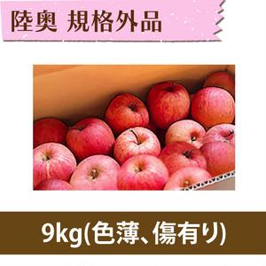 【りんご】陸奥(むつ) 9kg【規格外品】
