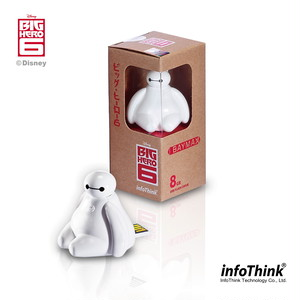 InfoThink / BayMax ベイマックス / USB Flash Drive 16GB (USB2.0) / USB-100(Baymax) 16GB