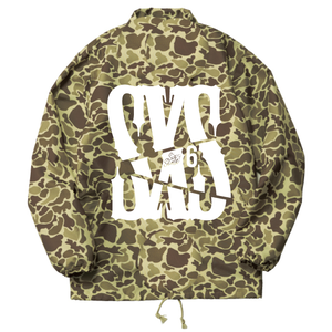 2000円OFF!!!【6SENSE】 COACHE JACKET -Duck Hunter Camo-