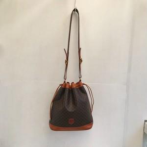 CELINE macadam bucket shoulder bag