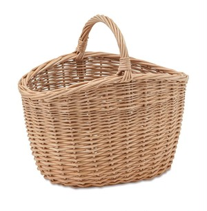 Natural material basket