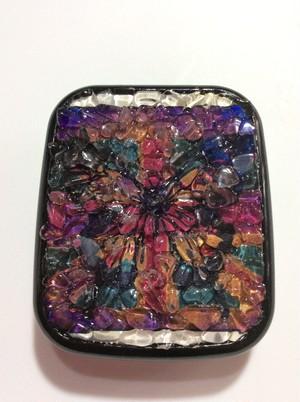 コンタクトレンズケース 水晶