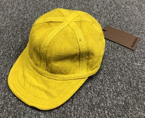BEAUGAN 6 PANEL HAT YELLOW