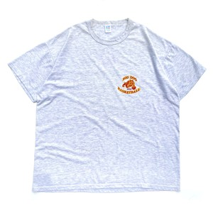 USED 90-00's Russell Athletic BIG DOG Basketball tee - ash