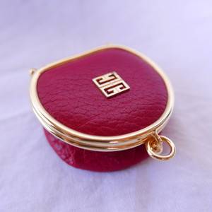 GIVENCHY Folded Coin Purse #02 -Red-
