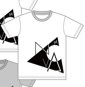 XXL-Tシャツ(文字デザイン三角形)