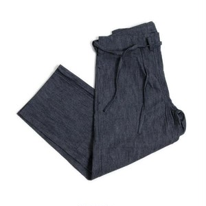TUKI (ツキ)【KARATE PANTS】 (HIGH COUNT DENIM) カラテパンツ