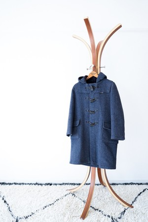 "【1970s】""Gloverall"" Wool Duffle Coat / v443"