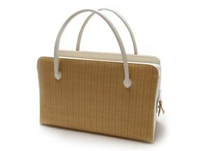 天蚕紬の利休バッグ
