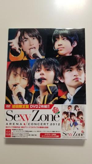 Sexy Zone   アリーナコンサート 2012 初回限定盤 【DVD】