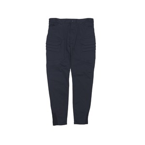 CHINO STRETCHED CARGO TAPERED PANTS - NAVY