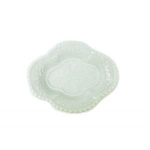 有田焼 豆皿手塩皿 木瓜型 白磁 105904018-1708