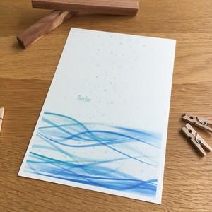 Post card / flow line(フローライン)5枚セット