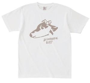 ワンダフルボーイズ Tシャツ(ロゴver.)ホワイト
