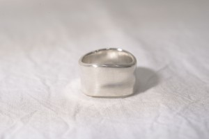 純銀製(Sv9999)yuragi-ring