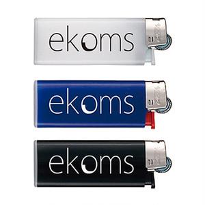 ekoms BIC製ライター3色セット