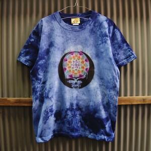 TKHOME FACTORY×GRATEFUL DEAD SYF Mandala×Uneven dyeing T-shirt Medium