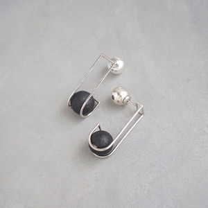 pierced earrings MP-01/earrings ME-01<silver>