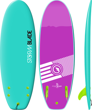 Storm Blade 58in Mini Board / Turquoise