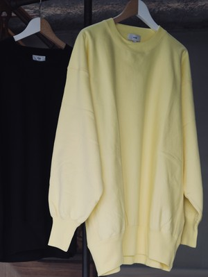 HYKE / SWEAT SHIRT (YELLOW)