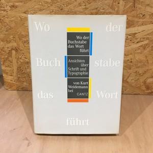 Ansichten uber Schrift und Typographie