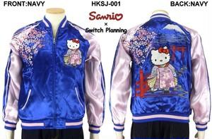 HKSJ-001 花魁ハローキティ刺繍スカジャン