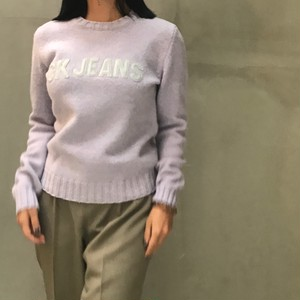 CK jeans lavender sweater