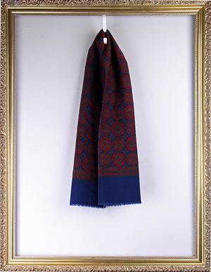 Vintage Scarf ヴィンテージ 丸柄スカーフ