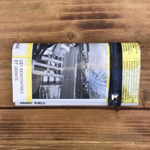 NEWSPAPER WALLET 黄色