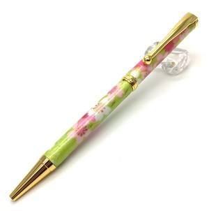 美濃和紙Pen  桜と流水gr  TM-1601