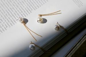 14kgf PearlSmile earrings