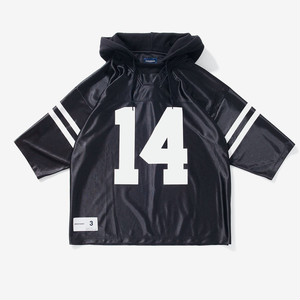 DESCENDANT SURBURBIA LAYERED FOOTBALL JERSEY / 182ATDS-CSM25
