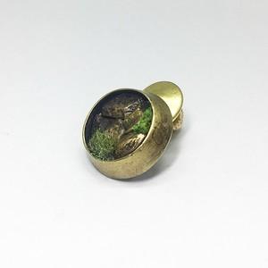 石壁マルブローチ/brass
