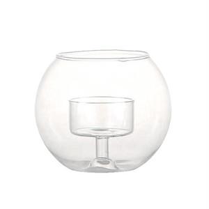 【BG023】Candle holder Glassball S #キャンドルホルダー #ガラス #モダン #エレガント #クラシカル
