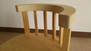 青森ヒバ 木製 キッズチェアー (子供椅子だけでなく飾り台や踏み台にも)