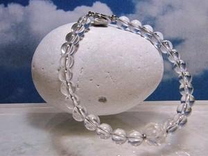 水晶のブレスレット・螺旋カット