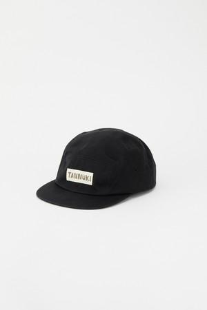 Sato Cotton Cap: Color Black