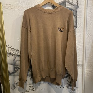 embroidery cotton knit