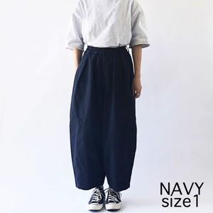【HARVESTY】CHINO CIRCUS PANTS (NAVY) (UNISEX) サーカスパンツ 日本製 ハーベスティ ユニセックス